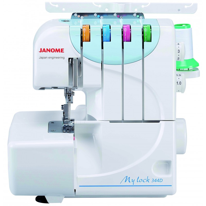 Surjeteuse janome my lock 344d for Machine a coudre 4 fils 121