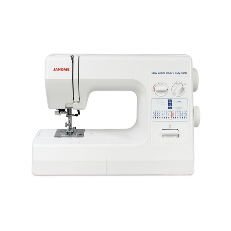 Machine coudre janome easy jeans 1800 - Machine a coudre simple ...