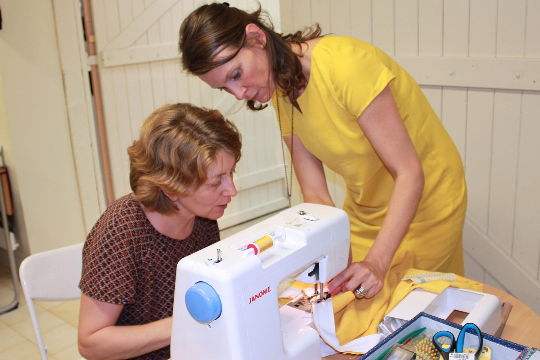 Cours de couture et de broderie à Oullins