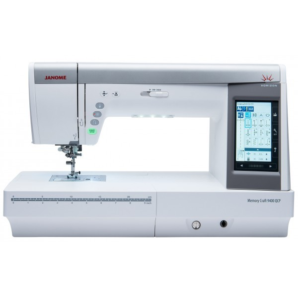 Machine à broder JANOME MEMORY CRAFT 9400 QCP