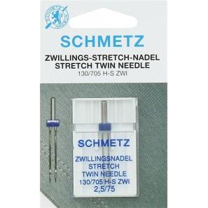 Aiguille Double SCHMETZ Stretch - Taille au choix