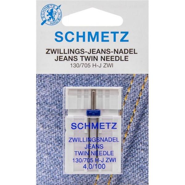Aiguille double SCHMETZ jeans -