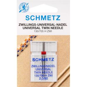 Aiguille Double SCHMETZ Universelle - 2mm/80