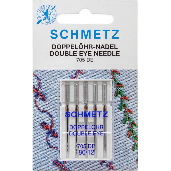 Aiguilles SCHMETZ Double Eye