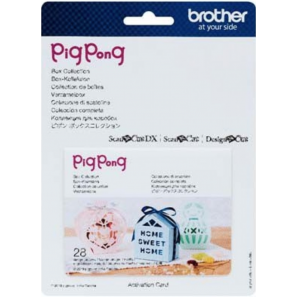 Brother ScanNCut Collection de boites Pigpong