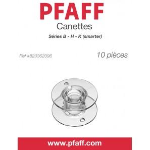 Canette Plastique , Paquet de 10 PFAFF