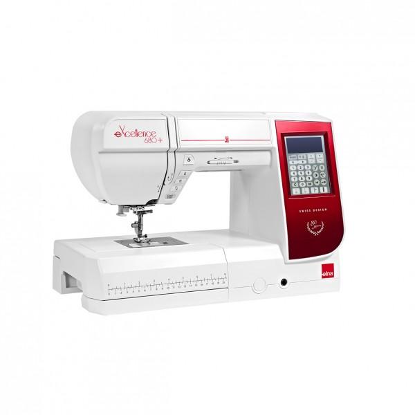 Machine à coudre ELNA eXcellence 680+