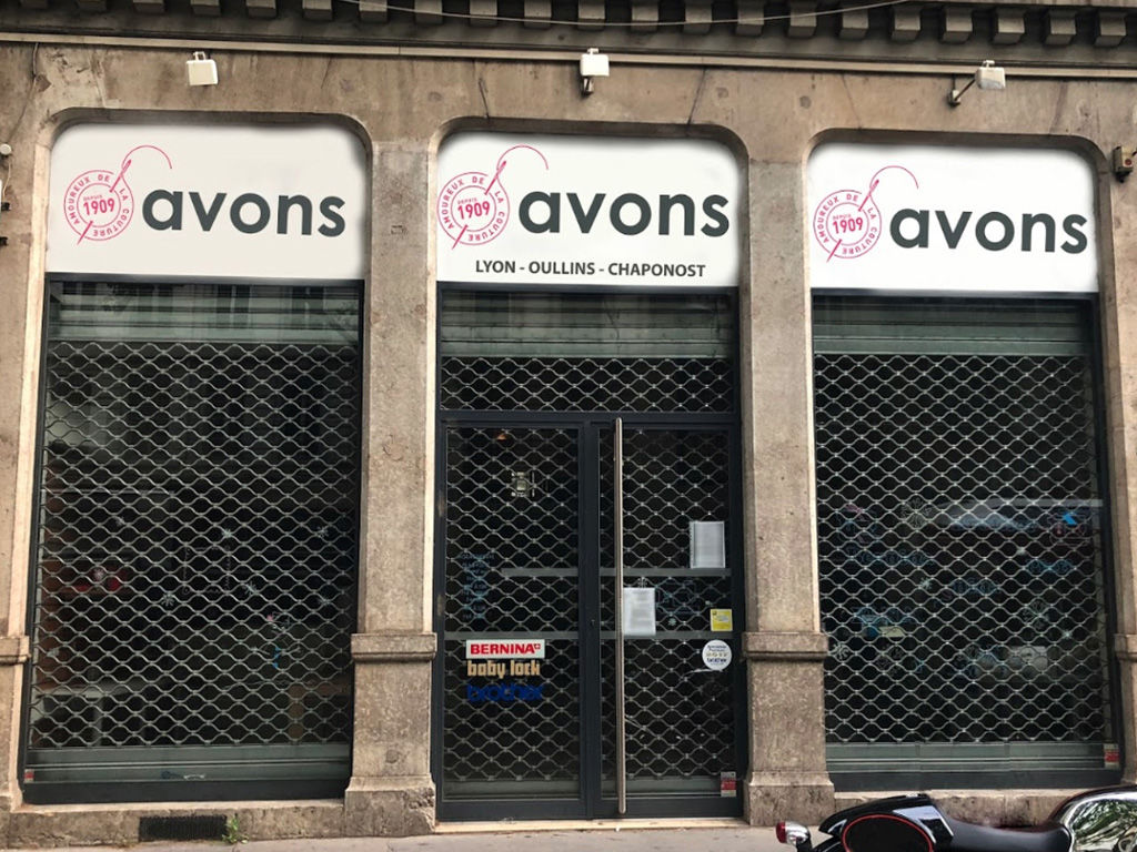 devanture boutique Lyon