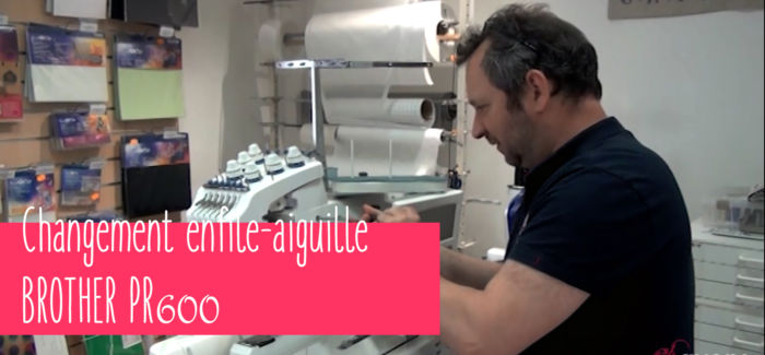 changer enfile aiguille brother